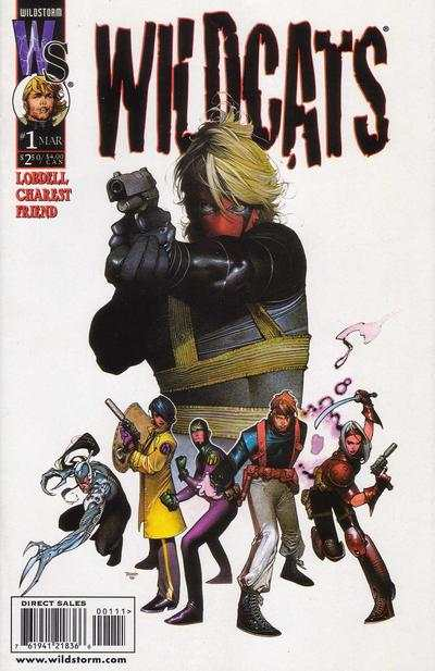 Wildcats #1 comic books - cover scans photos Wildcats #1 comic books - covers, picture gallery