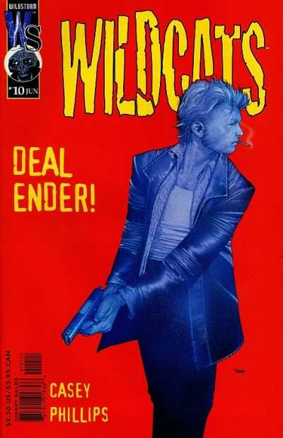 Wildcats #10 comic books - cover scans photos Wildcats #10 comic books - covers, picture gallery
