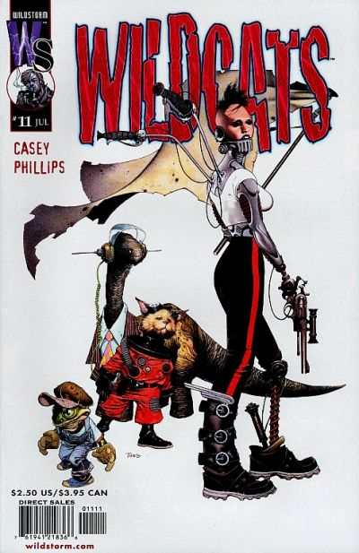 Wildcats #11 comic books - cover scans photos Wildcats #11 comic books - covers, picture gallery