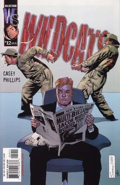 Wildcats #12 Comic Books - Covers, Scans, Photos  in Wildcats Comic Books - Covers, Scans, Gallery