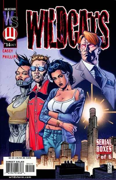 Wildcats #14 Comic Books - Covers, Scans, Photos  in Wildcats Comic Books - Covers, Scans, Gallery