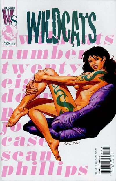 Wildcats #28 comic books - cover scans photos Wildcats #28 comic books - covers, picture gallery