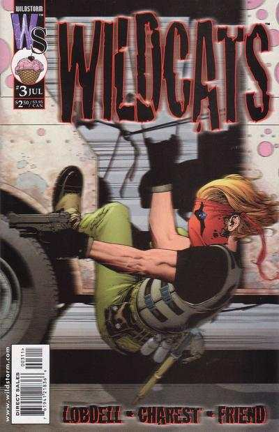 Wildcats #3 comic books - cover scans photos Wildcats #3 comic books - covers, picture gallery
