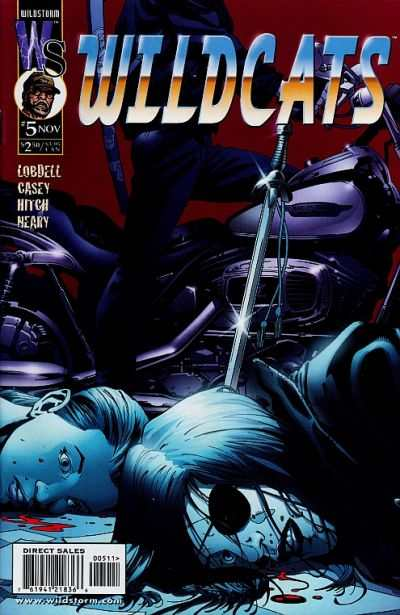 Wildcats #5 Comic Books - Covers, Scans, Photos  in Wildcats Comic Books - Covers, Scans, Gallery