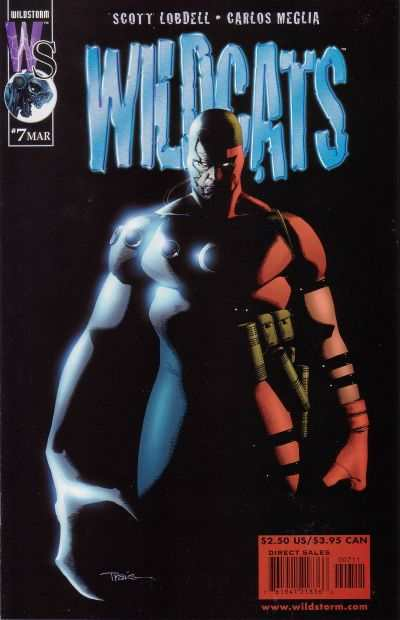 Wildcats #7 comic books - cover scans photos Wildcats #7 comic books - covers, picture gallery