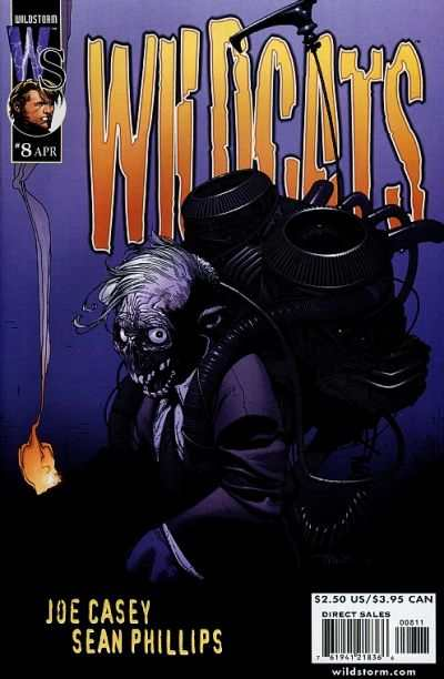 Wildcats #8 Comic Books - Covers, Scans, Photos  in Wildcats Comic Books - Covers, Scans, Gallery
