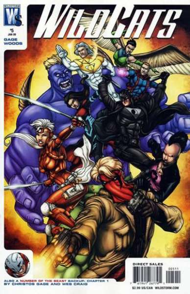 Wildcats #5 comic books - cover scans photos Wildcats #5 comic books - covers, picture gallery