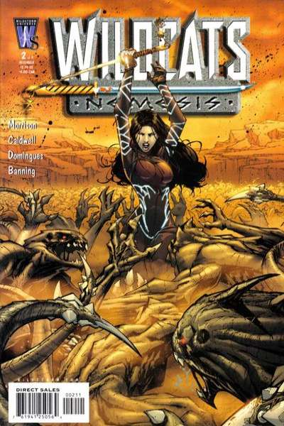 Wildcats: Nemesis #2 Comic Books - Covers, Scans, Photos  in Wildcats: Nemesis Comic Books - Covers, Scans, Gallery