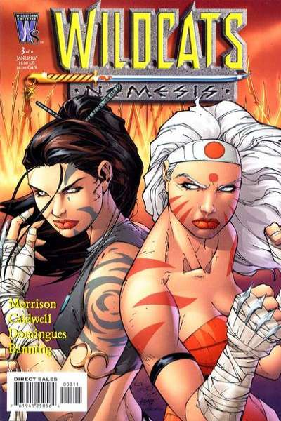 Wildcats: Nemesis #3 comic books for sale
