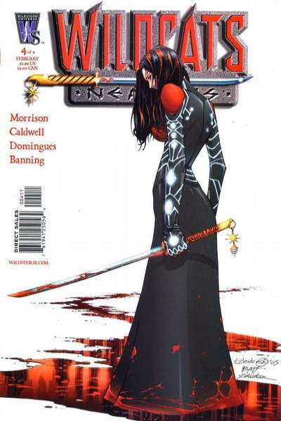 Wildcats: Nemesis #4 comic books - cover scans photos Wildcats: Nemesis #4 comic books - covers, picture gallery