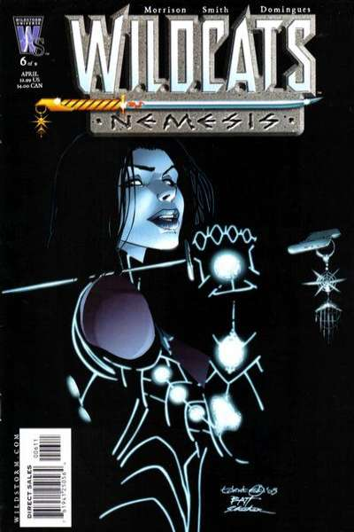 Wildcats: Nemesis #6 comic books - cover scans photos Wildcats: Nemesis #6 comic books - covers, picture gallery