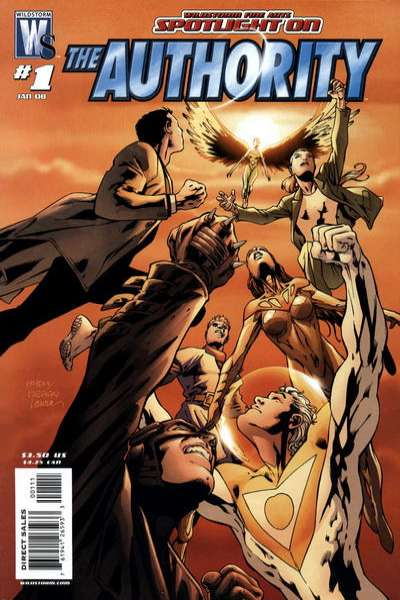 Wildstorm Fine Arts: Spotlight on the Authority Comic Books. Wildstorm Fine Arts: Spotlight on the Authority Comics.