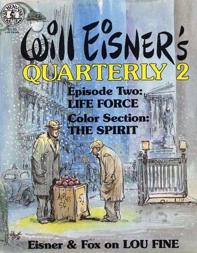 Will Eisner's Quarterly #2 comic books for sale