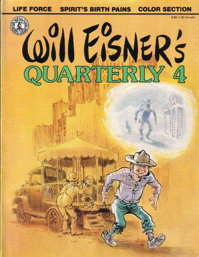 Will Eisner's Quarterly #4 Comic Books - Covers, Scans, Photos  in Will Eisner's Quarterly Comic Books - Covers, Scans, Gallery