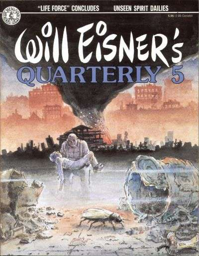 Will Eisner's Quarterly #5 Comic Books - Covers, Scans, Photos  in Will Eisner's Quarterly Comic Books - Covers, Scans, Gallery