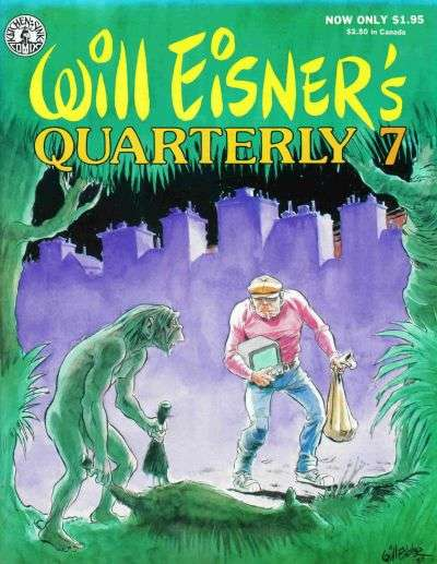 Will Eisner's Quarterly #7 Comic Books - Covers, Scans, Photos  in Will Eisner's Quarterly Comic Books - Covers, Scans, Gallery