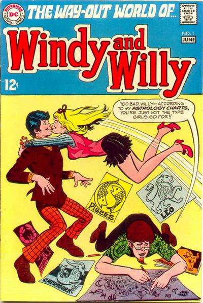 Windy & Willy comic books