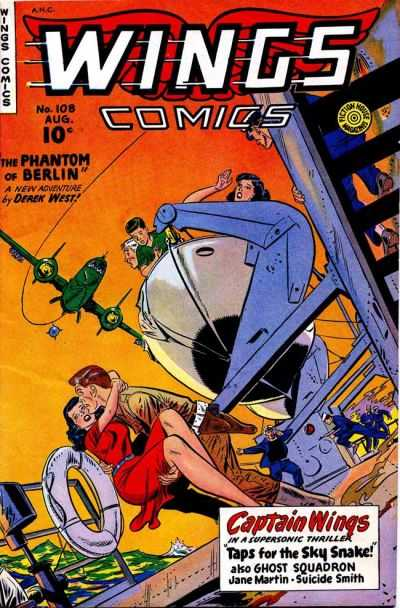 Wings Comics #108 Comic Books - Covers, Scans, Photos  in Wings Comics Comic Books - Covers, Scans, Gallery
