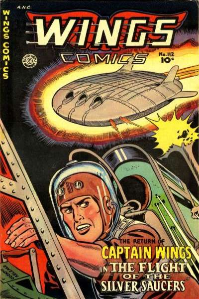 Wings Comics #112 comic books for sale
