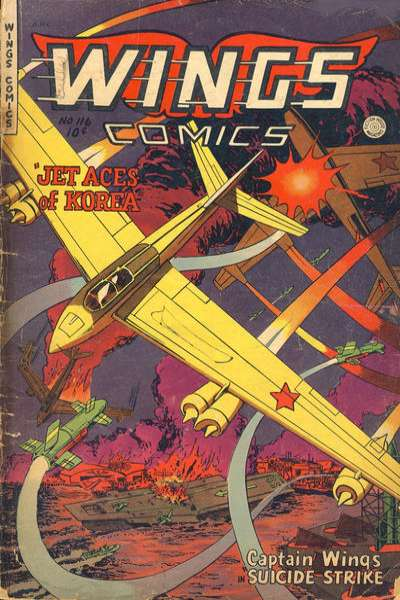 Wings Comics #116 comic books for sale