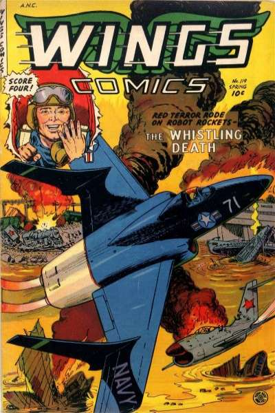 Wings Comics #119 comic books for sale