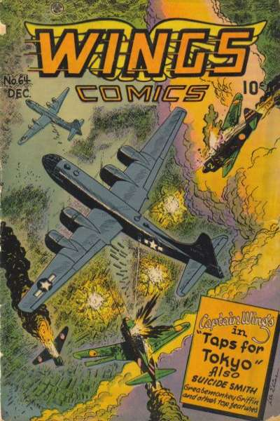Wings Comics #64 comic books for sale