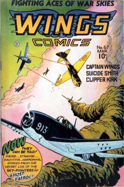 Wings Comics #67 comic books for sale