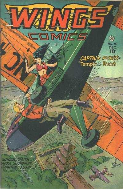 Wings Comics #76 Comic Books - Covers, Scans, Photos  in Wings Comics Comic Books - Covers, Scans, Gallery