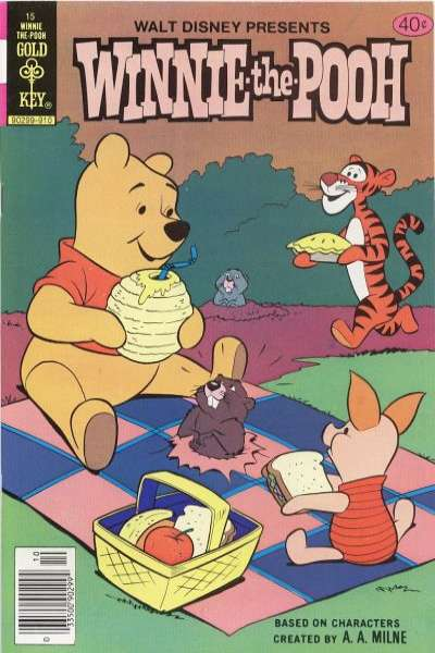 Winnie-the-Pooh #15 comic books - cover scans photos Winnie-the-Pooh #15 comic books - covers, picture gallery