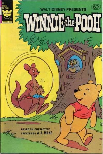 Winnie-the-Pooh #27 comic books - cover scans photos Winnie-the-Pooh #27 comic books - covers, picture gallery