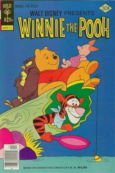 Winnie-the-Pooh #4 Comic Books - Covers, Scans, Photos  in Winnie-the-Pooh Comic Books - Covers, Scans, Gallery