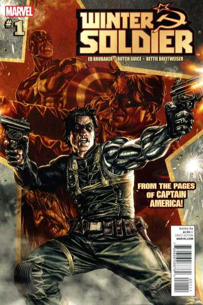 Winter Soldier comic books