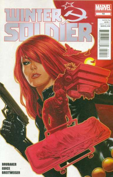 Winter Soldier #10 Comic Books - Covers, Scans, Photos  in Winter Soldier Comic Books - Covers, Scans, Gallery