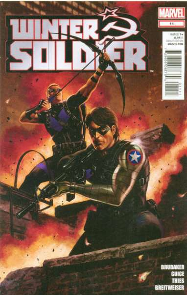 Winter Soldier #11 Comic Books - Covers, Scans, Photos  in Winter Soldier Comic Books - Covers, Scans, Gallery