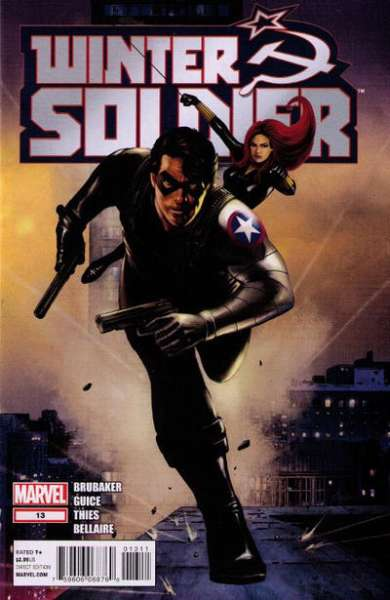 Winter Soldier #13 Comic Books - Covers, Scans, Photos  in Winter Soldier Comic Books - Covers, Scans, Gallery