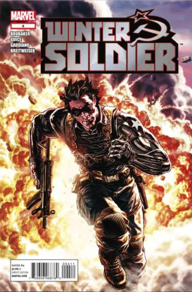 Winter Soldier #4 Comic Books - Covers, Scans, Photos  in Winter Soldier Comic Books - Covers, Scans, Gallery
