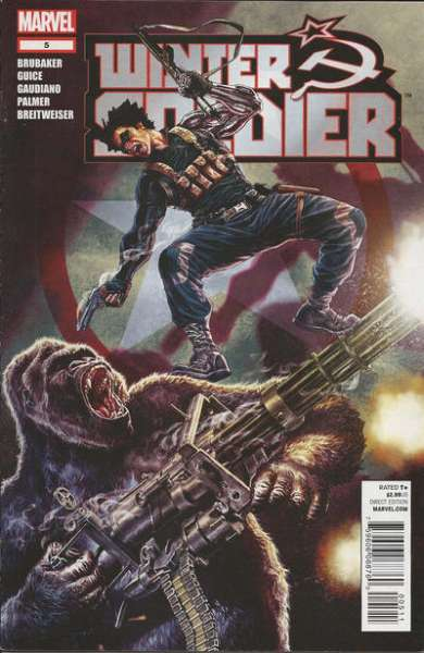 Winter Soldier #5 comic books - cover scans photos Winter Soldier #5 comic books - covers, picture gallery