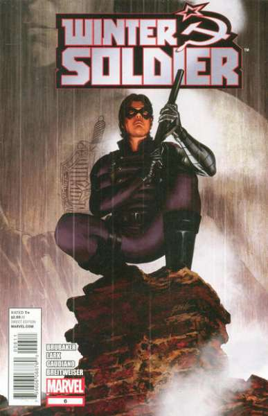 Winter Soldier #6 comic books - cover scans photos Winter Soldier #6 comic books - covers, picture gallery