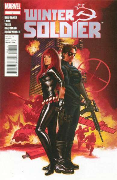 Winter Soldier #7 comic books - cover scans photos Winter Soldier #7 comic books - covers, picture gallery