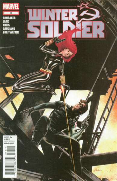Winter Soldier #8 comic books - cover scans photos Winter Soldier #8 comic books - covers, picture gallery