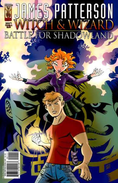 Witch & Wizard: Battle for Shadowland #1 comic books - cover scans photos Witch & Wizard: Battle for Shadowland #1 comic books - covers, picture gallery