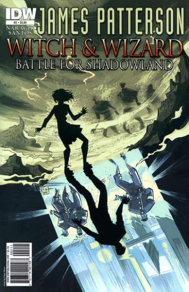 Witch & Wizard: Battle for Shadowland #2 comic books - cover scans photos Witch & Wizard: Battle for Shadowland #2 comic books - covers, picture gallery