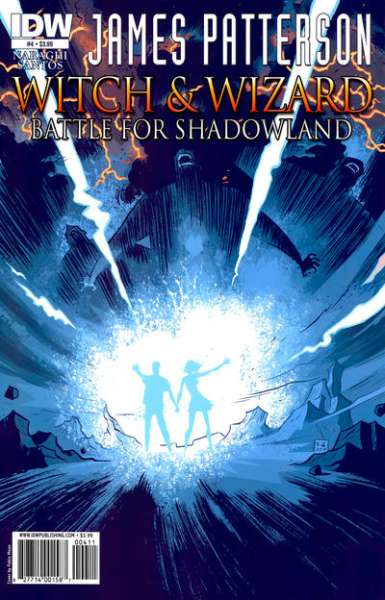 Witch & Wizard: Battle for Shadowland #4 comic books - cover scans photos Witch & Wizard: Battle for Shadowland #4 comic books - covers, picture gallery