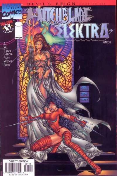 Witchblade/Elektra #1 comic books - cover scans photos Witchblade/Elektra #1 comic books - covers, picture gallery