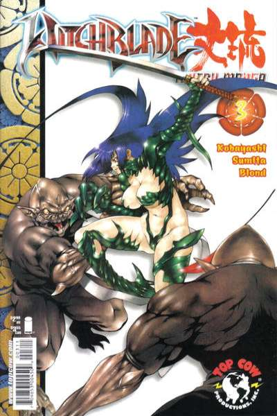 Witchblade: Manga #3 comic books - cover scans photos Witchblade: Manga #3 comic books - covers, picture gallery