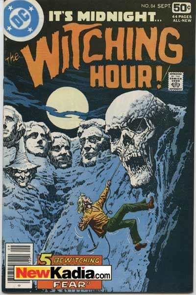 Witching Hour #84 comic books - cover scans photos Witching Hour #84 comic books - covers, picture gallery