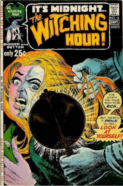 Witching Hour #16 comic books - cover scans photos Witching Hour #16 comic books - covers, picture gallery