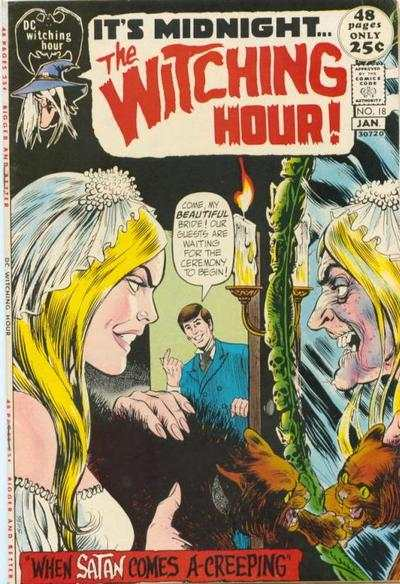 Witching Hour #18 comic books - cover scans photos Witching Hour #18 comic books - covers, picture gallery