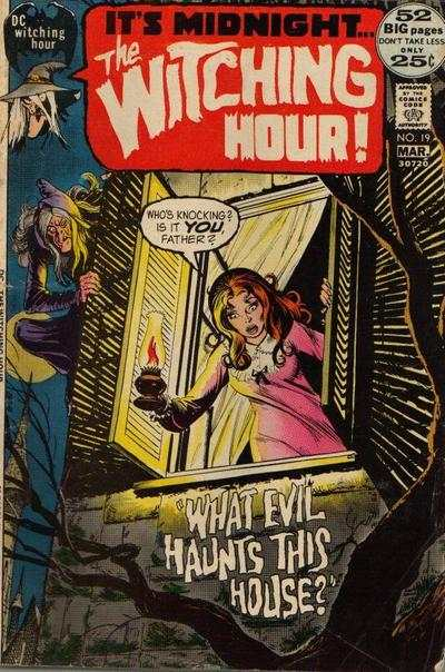 Witching Hour #19 comic books - cover scans photos Witching Hour #19 comic books - covers, picture gallery