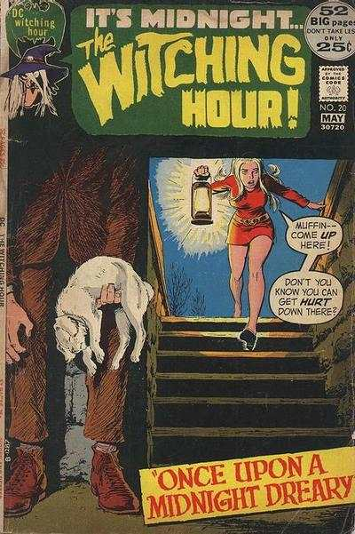 Witching Hour #20 comic books - cover scans photos Witching Hour #20 comic books - covers, picture gallery